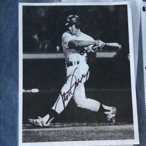 Steve Gravey signed picture!